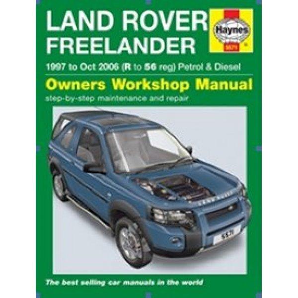 Haynes Werkplaats Handleiding – Land Rover Freelander 1 1e en 2e generatie (modeljaren 1997 t/m 2006)