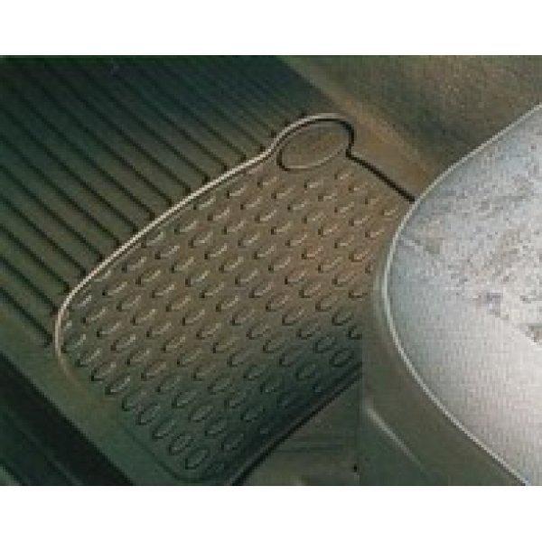 Rubber mattensets Discovery 2 Set voor en achter (4-delig) met Land Rover Logo