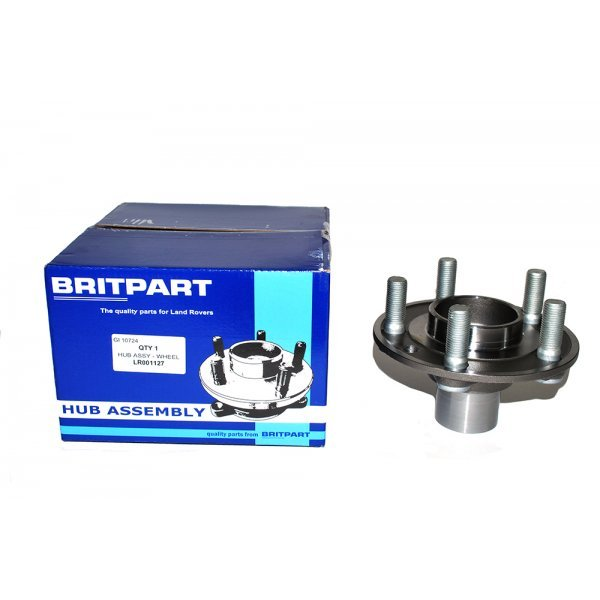 Rear Hub Assembly excludes Bearing - LR001127