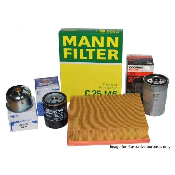 Filterpakket Range Rover Sport 5.0 ltr Benzine N.A. en Supercharged t/m modeljaar 2013