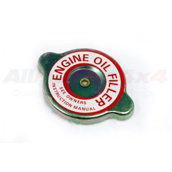 Oil Filler Cap - 598231