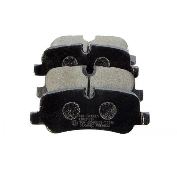 Rear Brake Pads - LR019627