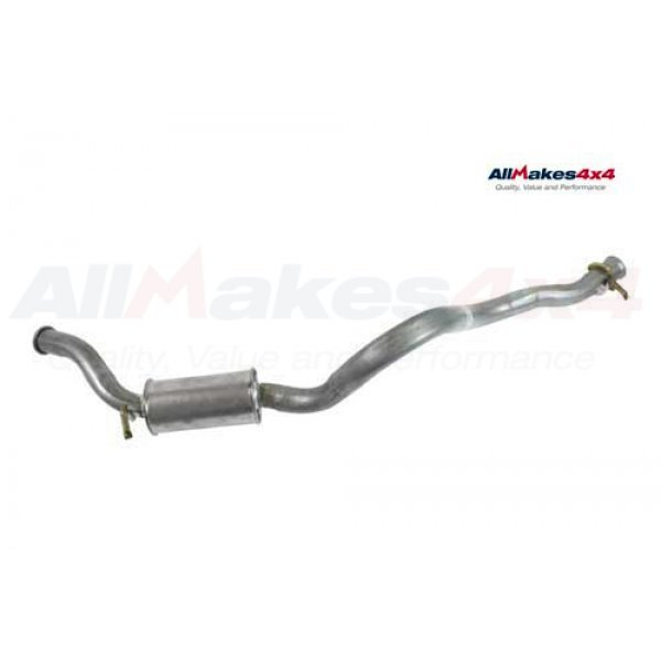 Rear Silencer and Tail Pipe - NTC1802
