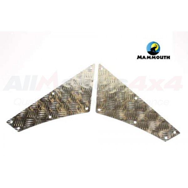 Quadrant Chequer Plate Kit Uncoated - RQ2MV-110/U