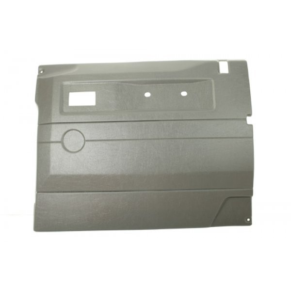 DGREY RH PUSH BUTTON FRT DOOR CARD WITH ELECTRIC W - TF2446