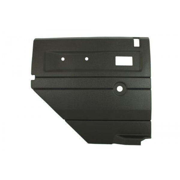 Black defender rear door card - TF2481