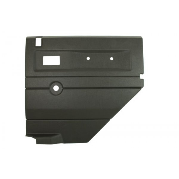 DGREY RH PUSH BUTTON REAR DOOR CARD WITH MANUAL WI - TF2482