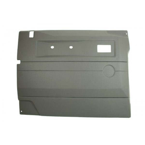 LGREY LH PUSH BUTTON FRT DOOR CARD WITH ELECTRIC W - TF2495
