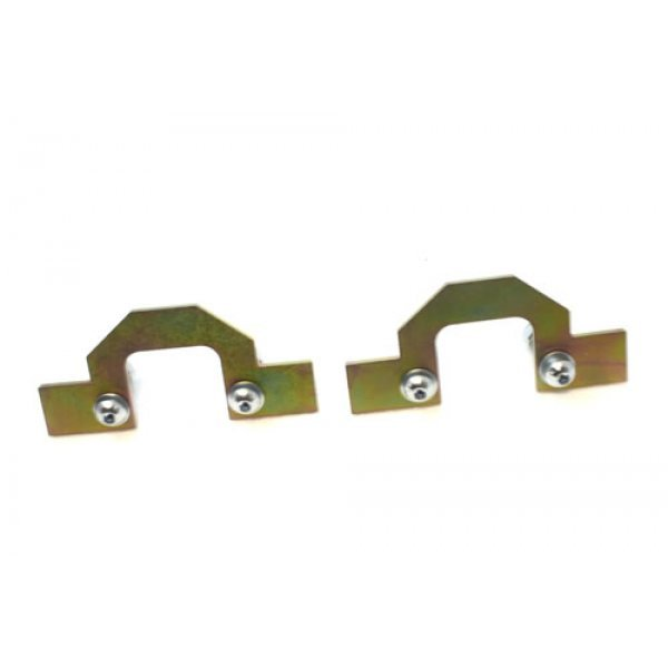 FRONT SPRING RETAINING PLATES FOR DISCOVERY 2 - TF524