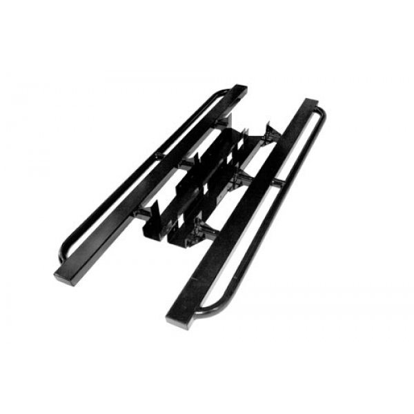 P38 RANGE ROVER ROCK SLIDERS WITH TREE BARS - TF816