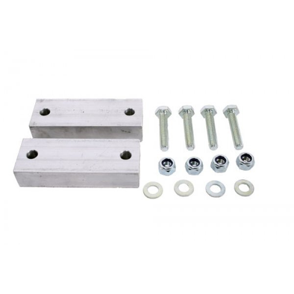 2 HOLE ANTI ROLL BAR SPACER KIT FOR DEFENDERS - TFARSK2