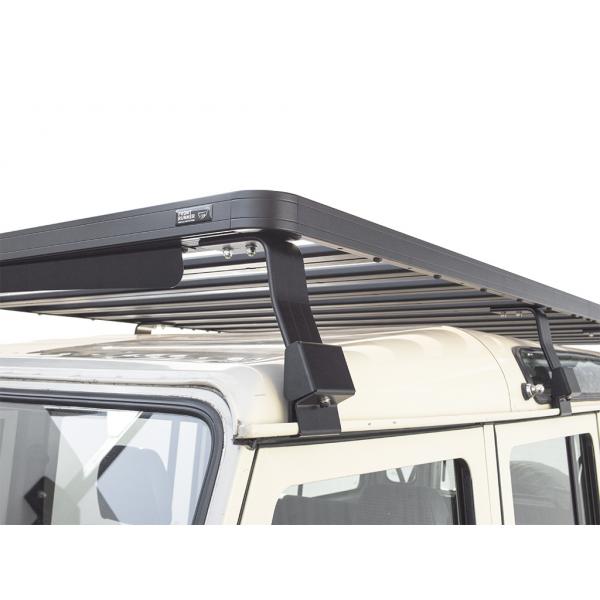 Roofrack Defender 110 met grijskenteken dak